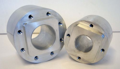 Aluminium drive hub, turning and milling