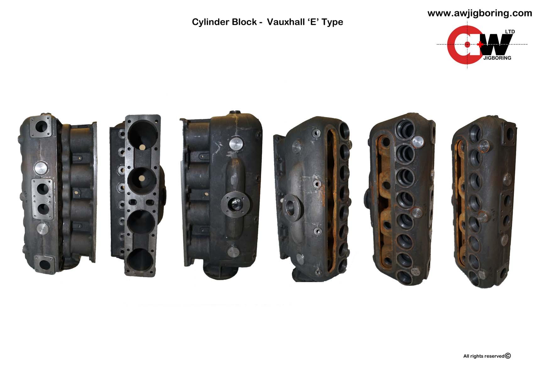 Cylinder Block V.E
